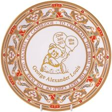 CAVERSWALL ROYAL BABY 'PRINCE GEORGE OF CAMBRIDGE' PLATE - Ltd/Ed. (BIRTH 2013)