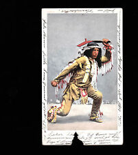 1905 postcard- Arrow Maker Ohewa Brave (#6881)