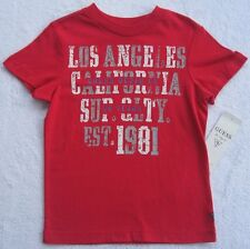 NWT Guess Boys Red T-Shirt(Size 3Toddler)  NEW