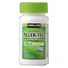 Kirkland Aller-Tec Allergy 10mg Cetirizine HCI Antihistamine 365 Tablet Allertec
