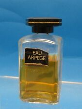 VINTAGE EAU ARPEGE LANVIN FRANCE PERFUME 1.7 oz (1 2/3 oz) * RARE