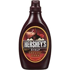 *FREE SHIPPING* Hershey's Special Dark Chocolate Syrup Topping (22 oz)