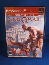 Sony Playstation PS2 God Of War Greatest Hits Complete Video Game