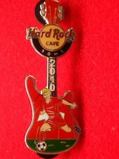 HRC Hard Rock Cafe Rom Rome Roma Soccer Player Guitar 2010 Switzerland LE250