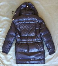 Triple 5 Soul 555 Light Weight Navy Down Snorkel Parka quilted small S