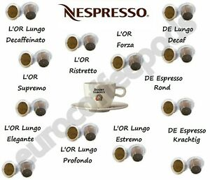 Nespresso Compatible Coffee Capsules 120 Pods - Pick From 6 Blends Sold Loose