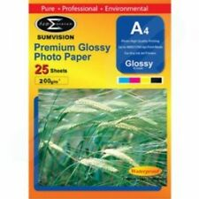 100 Sheets Sumvision A4 200gsm Premium Gloss Photo Paper Sealed