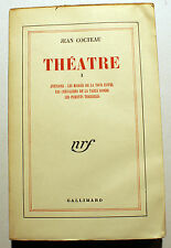 COCTEAU/THEATRE/VOL I/NRF/1951/ANTIGONE/PARRENTS TERRIBLES..