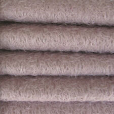 """1/6 yd 300S/Cm Lilac Intercal 1/2"""" Ultra-Sparse Curly Matted Mohair Plush Fabric"""