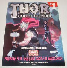 Poster - Thor God of Thunder #1/Ms. Marvel #1 - VF - SALE!!!