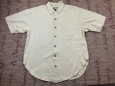 Tommy Bahama Paradise & Back Button Up SHIRT Small