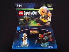 Lego Dimensions 71230 Back to The Future Doc Brown Time Train Fun Pack