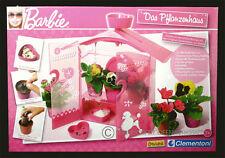 """BARBIE Gewächshaus für Kinder """"Das Pflanzenhaus"""" (Clementoni) S1"""