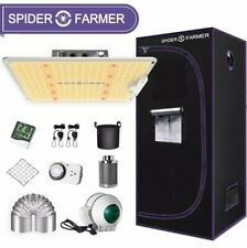 Spider Farmer SF1000 Growbox Komplettset inklusive Filter und Abluft.