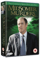 Midsomer Murders: The Complete Series Five and Six DVD (2009) John Nettles cert