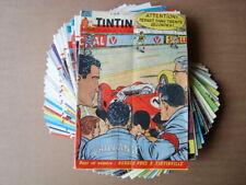 """Lot de 29 """"Tintin"""" des années 60"""