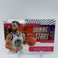 2019-20 Panini Illusions Stephen Curry Shining Stars Basketball Card Pink Rare