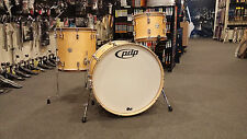 PDP Concept Classic Wood Hoop Natural Satin Drum Set 13,16,24