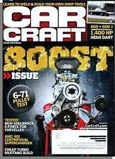 Car Craft Magazine - 2013, January - Boost Issue! Cheap Turbo Mustang Build