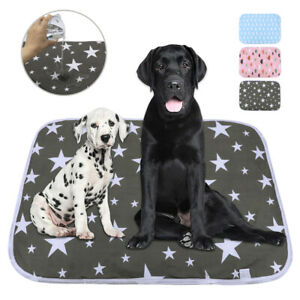 Pet Dog Pee Mat Washable Reusable Absorbent Waterproof Large Puppy Training Pads