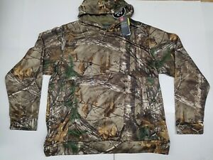 UNDER ARMOUR STORM ICON HUNTING CAMO HOODIE SWEASHIRT WATER RESISTANT MEN SZ 3XL