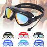 Adult Unisex  Swim Goggles  Anti-Fog  Waterproof  UV Protection Silicone Glasses