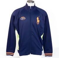 Ralph Lauren US Open 2011 Navy Blue Zip Front Big Pony Tennis Jacket Mens NWT