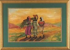 "African American Black Art Print ""THE LONG WALK HOME"" by Kathleen Wilson"
