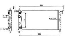 NRF Radiador, refrigeración del motor OPEL CORSA COMBO TIGRA VAUXHALL 50552