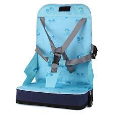 Bebe Voyage Bagage de Rehausseur Siege Pliant Chaise Haute Portable Harnais N7Z2