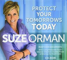 Suze Orman - Protect Your Tomorrows Today (CD-ROM) Usually ships in 12 hours!!!