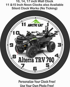 2020 ARCTIC CAT ALTERRA TRV 700 ATV WALL CLOCK-FREE USA SHIP