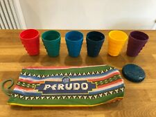 SPARE PARKER PERUDO CUPS x 6 PLUS CLOTH BAG and LID FREE P&P INDIAN HEAD EDITION