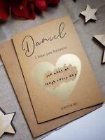 funny valentines card for boyfriend husband wife girlfriend birthday anniversary