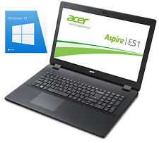 "High Acer 17,3"" Notebook Intel 2,16 Ghz, 8 GB, 500 GB SSD, Windows 10 Pro"
