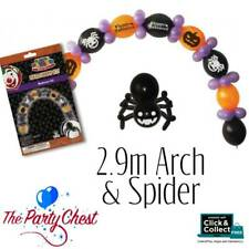 HALLOWEEN SPIDER BALLOON KIT Creepy Halloween Party Decorations with Spider LKK3