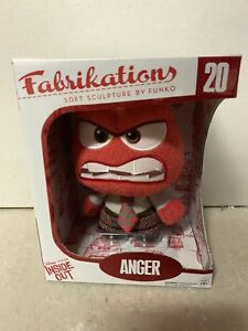 Funko Fabrikations - Disney Inside Out Soft Sculpture - ANGER - New Plush