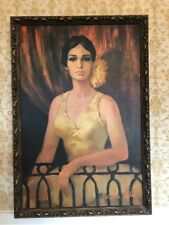 """Vintage Mid-Century """"Carmen of the Opera"""" Print by Barbara Weber-Mint Condition!"""
