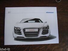 Eisenmann Sparkeight, Sparkten (Basis Audi R8) Prospekt / Brochure, D / GB