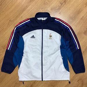 France 2002/2004 Football Training Track Top Jacket Adidas Size XL