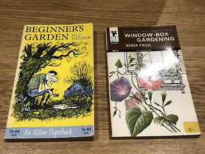 Vintage gardening books x 2
