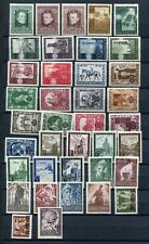 AUSTRIA 1947 MNH Lot 38 Stamps