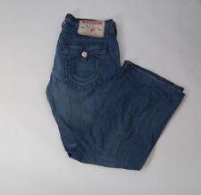 True Religion Billy Big T Men's Dark Wash Jeans Size 38 X 33
