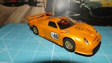 SCALEXTRIC PORSCHE GT1 Car - With Lights & New Rear Tyres !