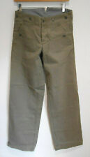 MHL by Margaret Howell Marching trouser in grey green faded drill XS NEW