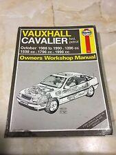 VAUXHALL CAVALIER 1988-90 FWD Gasolina Haynes Manual de taller [ BS ]