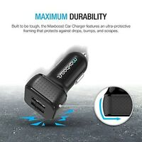 Dual Car Charger Adapter Universal iPhone Samsung Android USB Phone Accessories