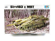 1/72 Trumpeter Strv103 c MBT  - Parts Sealed - 07220 Tank Model Kit