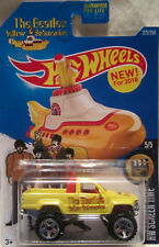 Hot Wheels CUSTOM '87 TOYOTA The Beatles Yellow Submarine Real Riders Limited!