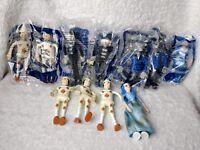 Vintage Happy Meal Toys Pinocchio McDonald Lot 11 Bendable Medoro Blue Fairy Cat
